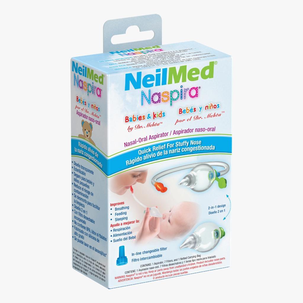 NeilMed® Naspira® Aspirador Nasal-Oral Image